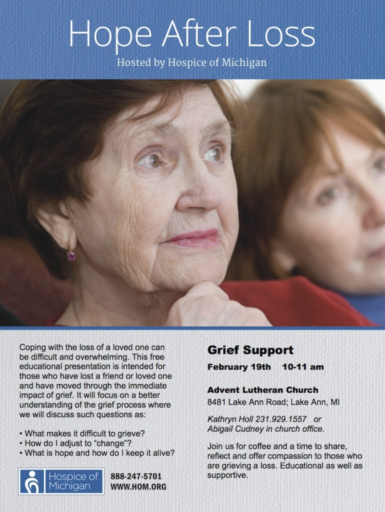 Hope After Loss Flyer