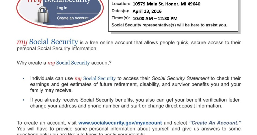 Social Security Direct Deposit Change
